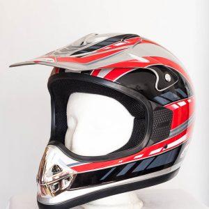 Cross helma Jeb's - červená