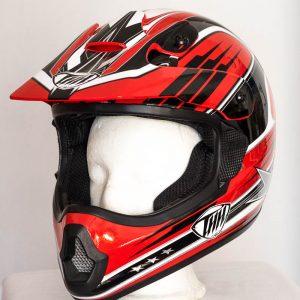 Cross helma THH TX 10 - červená