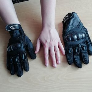 Textilní rukavice na motorku - dámské