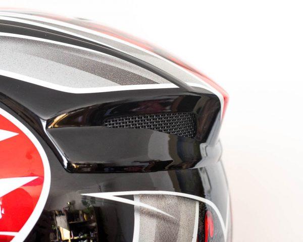 Integrální helma JEB's - červená