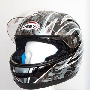 Integrální helma JEB's - šedá