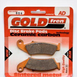 Brzdové destičky Goldfren 004 AD