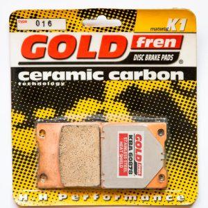 Brzdové destičky Goldfren 016 K1