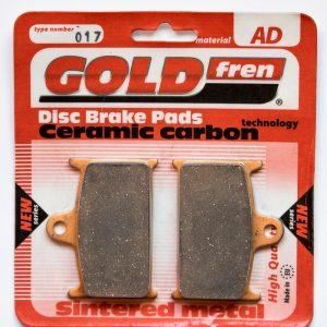 Brzdové destičky Goldfren 017 AD