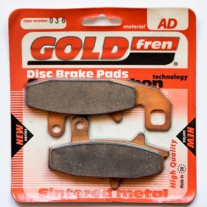 Brzdové destičky Goldfren 036 AD
