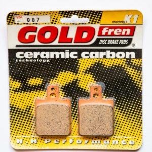 Brzdové destičky Goldfren 087 K1