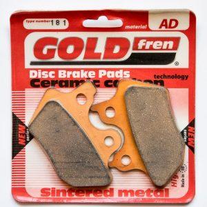 Brzdové destičky Goldfren 181 AD