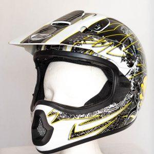 Cross helma THH TX 10 - bílá