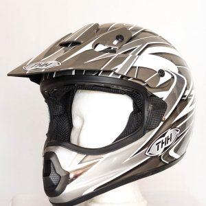 Cross helma THH TX 10 - šedá