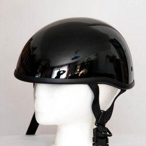 Helma Braincap bez štítku - černá lesklá