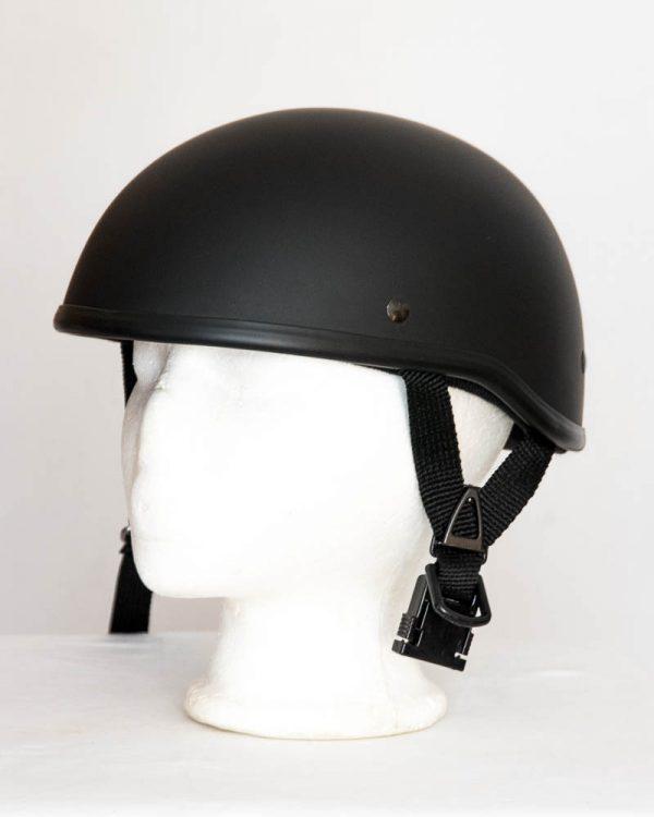 Helma Braincap bez štítku - černá matná