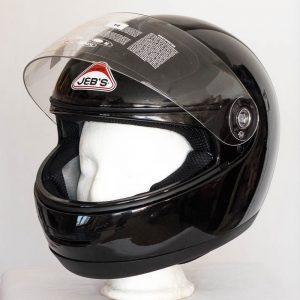 Integrální helma Jeb's 903 – černá lesklá