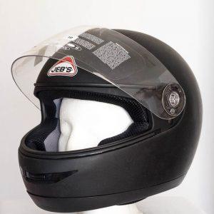 Integrální helma Jeb's 903 – černá matná