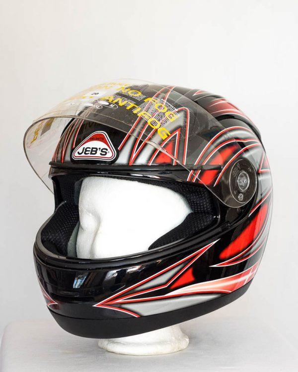 Integrální helma Jeb's 903 – červená
