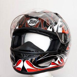 Integrální helma THH TS41 Dragon - červená