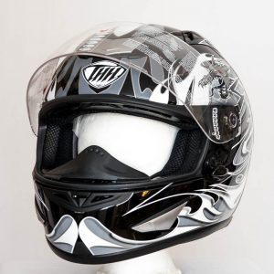 Integrální helma THH TS41 Dragon - šedá