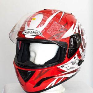 Integrální helma Zeus 806 - červená