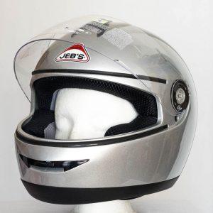 Integrální helma Jeb's 903 – stříbrná
