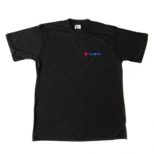 Pánské tričko Suzuki černé