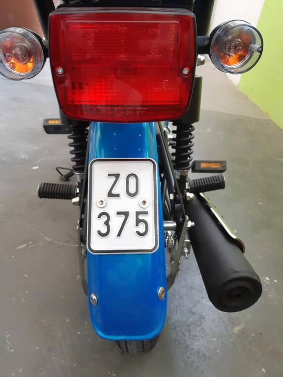 Moped MP Korado SUPERMAXI 50 EFI modrý