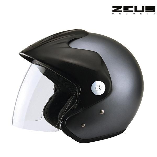 Otevřená helma na skútr - Zeus titanium