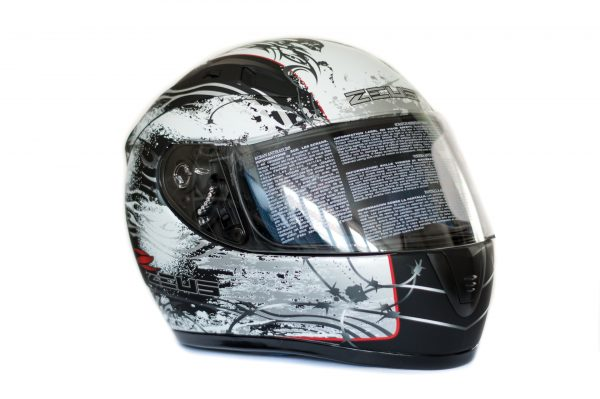 Integrální helma Zeus ZS-2000A Black/White
