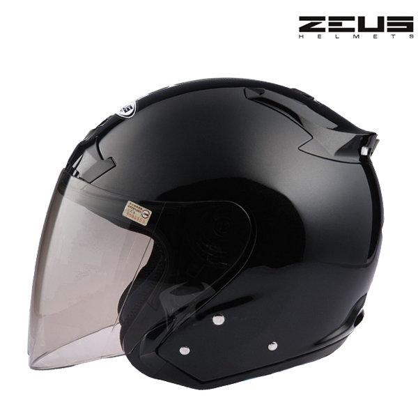 Otevřená helma Zeus City Black