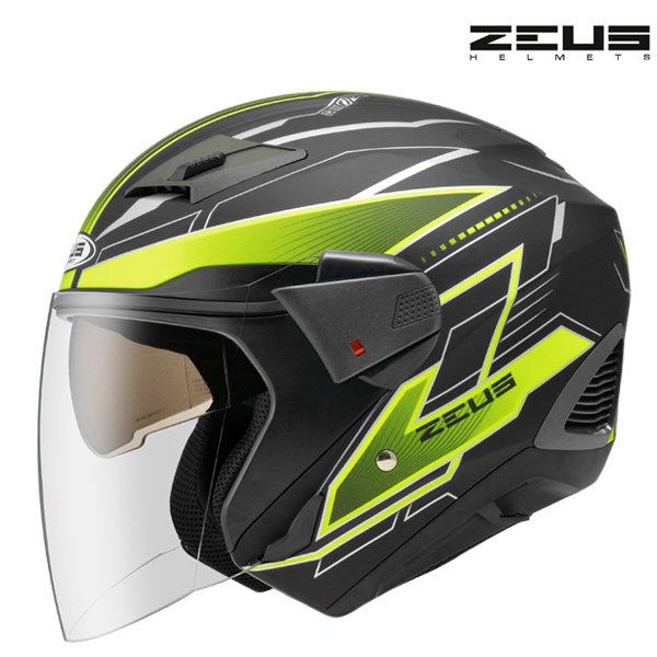 Otevřená helma Zeus Yellow/Black