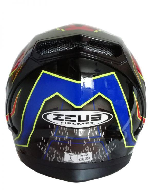 Integrální helma Zeus ZS-813 Red/Blue